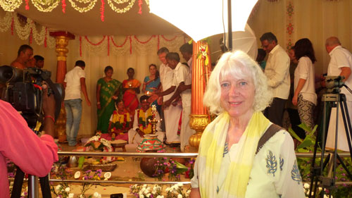 India Karunagaran wedding