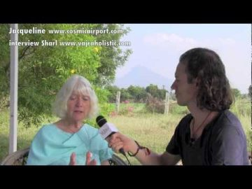 Jacqueline's inspiring and unique vision at singing heart ashram-sacred and awakening space. Interview by Sharl www.vajraholistic.com